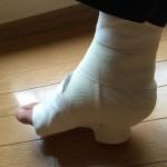 アキレス腱断裂後約5ヶ月、手術後約4ヶ月半